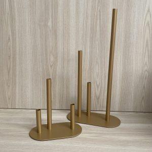 gold bud vase hire new zealand