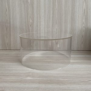 clear round cake stand hire nz
