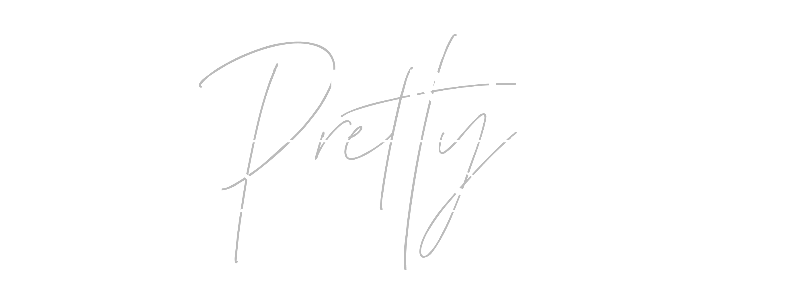 the pretty prop shop event hire logo