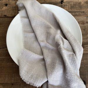 grey cheesecloth gauze napkin hire nz