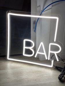 Bar Neon Sign Hire Auckland NZ