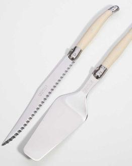 cake knife server set hire auckland nz