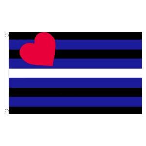 buy leather fetish lgbt pride 5' flag online
