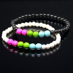 Polysexual Bead Bracelets