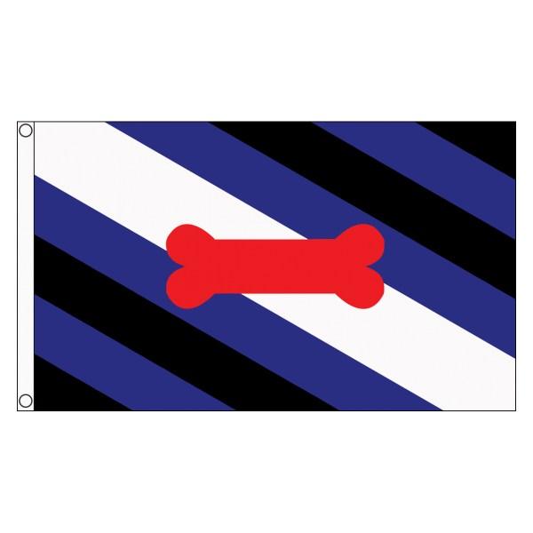 buy puppy play lgbt pride 5' flag online