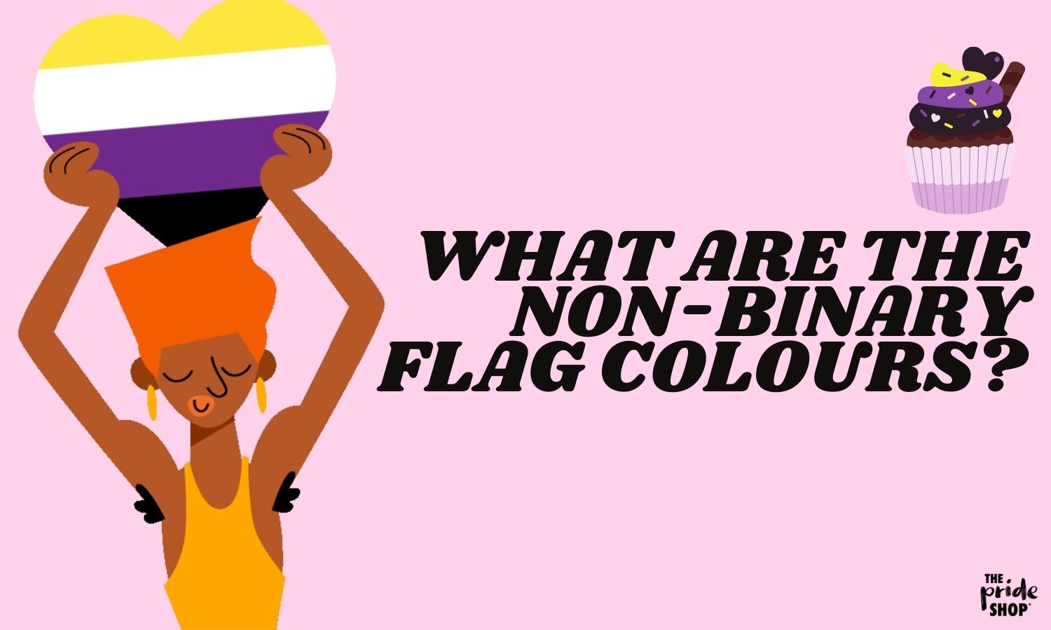 What colours are in the Non Binary flag?