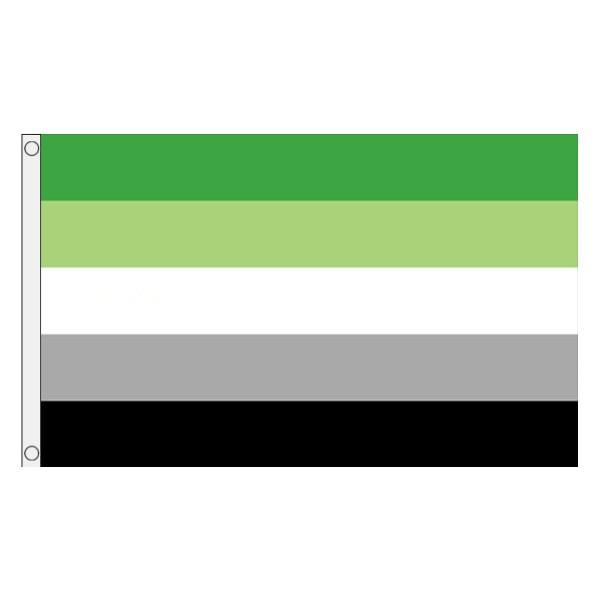 Buy Aromantic lgbt pride 5' flag online
