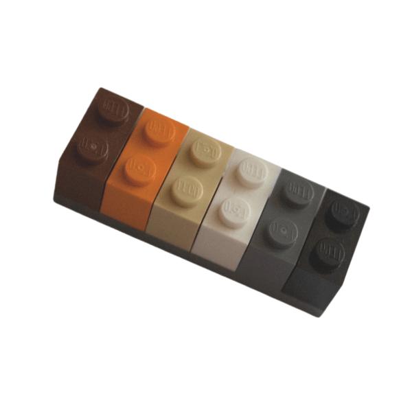 bear pride lego brick fridge magnet