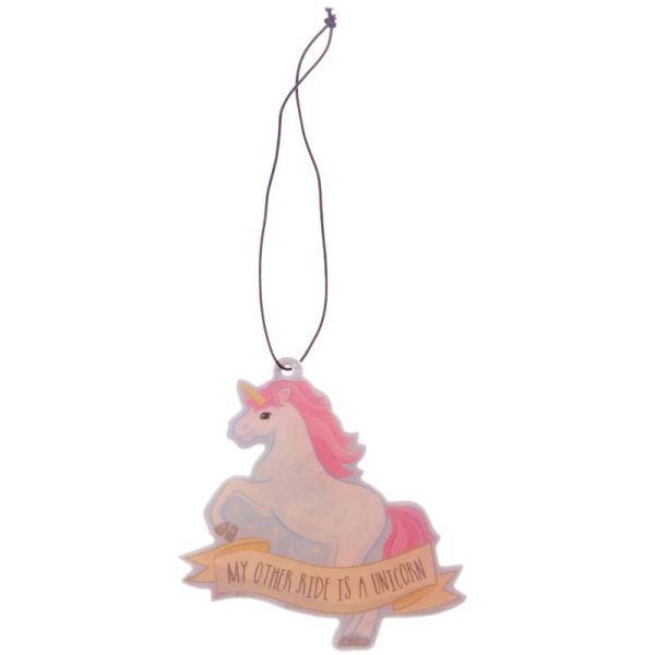 Unicorn fairy cake scented air freshener