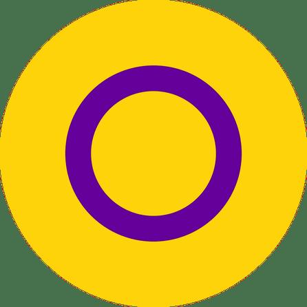 Intersex Pride Flag Pin Badge for sale