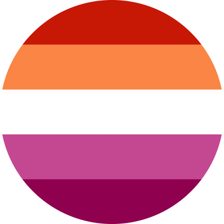 Lesbian Community Pride Flag Pin Badge for sale