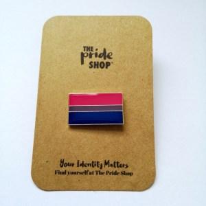Bisexual Flag Pin Badge