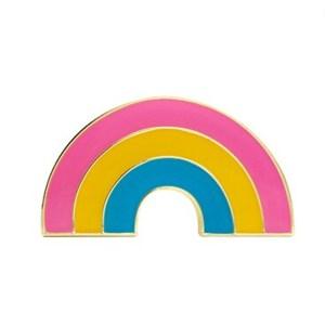 Pansexual Rainbow Pin Badge