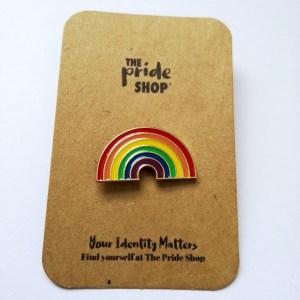 Rainbow Flag Rainbow Pin Badge