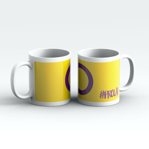 INTERSEX #PROUD Pride Mugs Pair