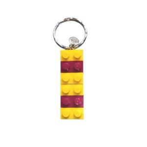 Intersex Lego Keyring
