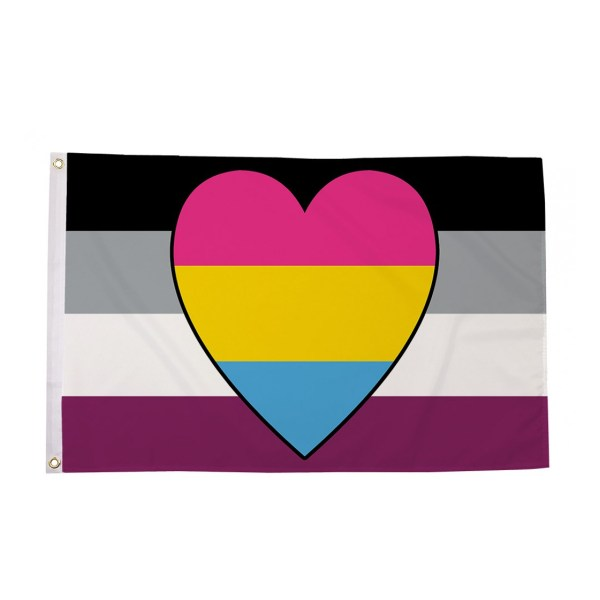 Asexual Panromantic Pride Flag