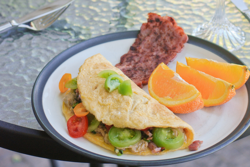 Baba Ganoush Omelette