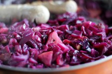 Maple Braised Cabbage - www.ThePrimalDesire.com