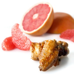 Nipples and Grapefruit Honey Garlic Chicken Wings - you'll just have to read it for yourself... http://theprimaldesire.com/grapefruit-honey-garlic-chicken-wings