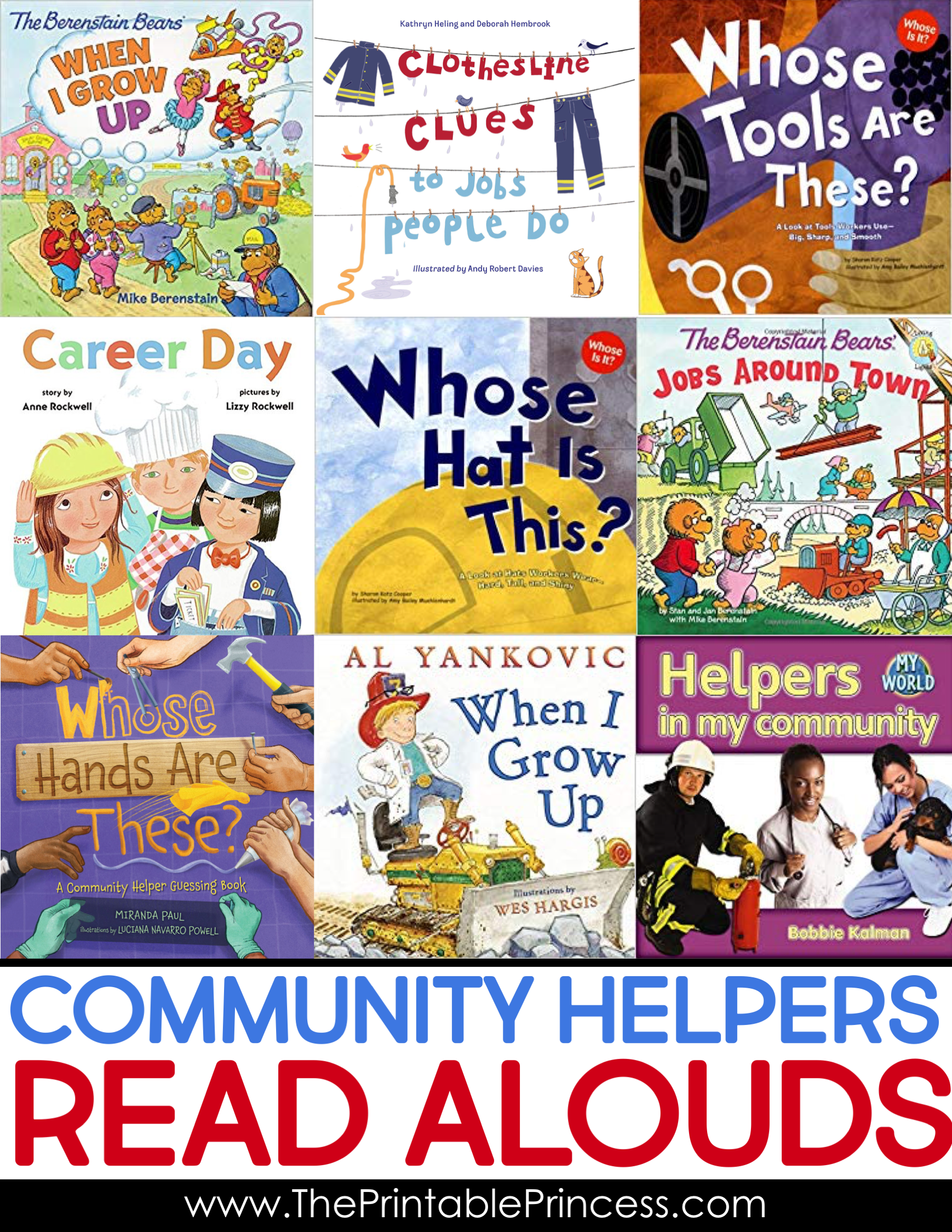 Community Helpers Activities For Kindergarten