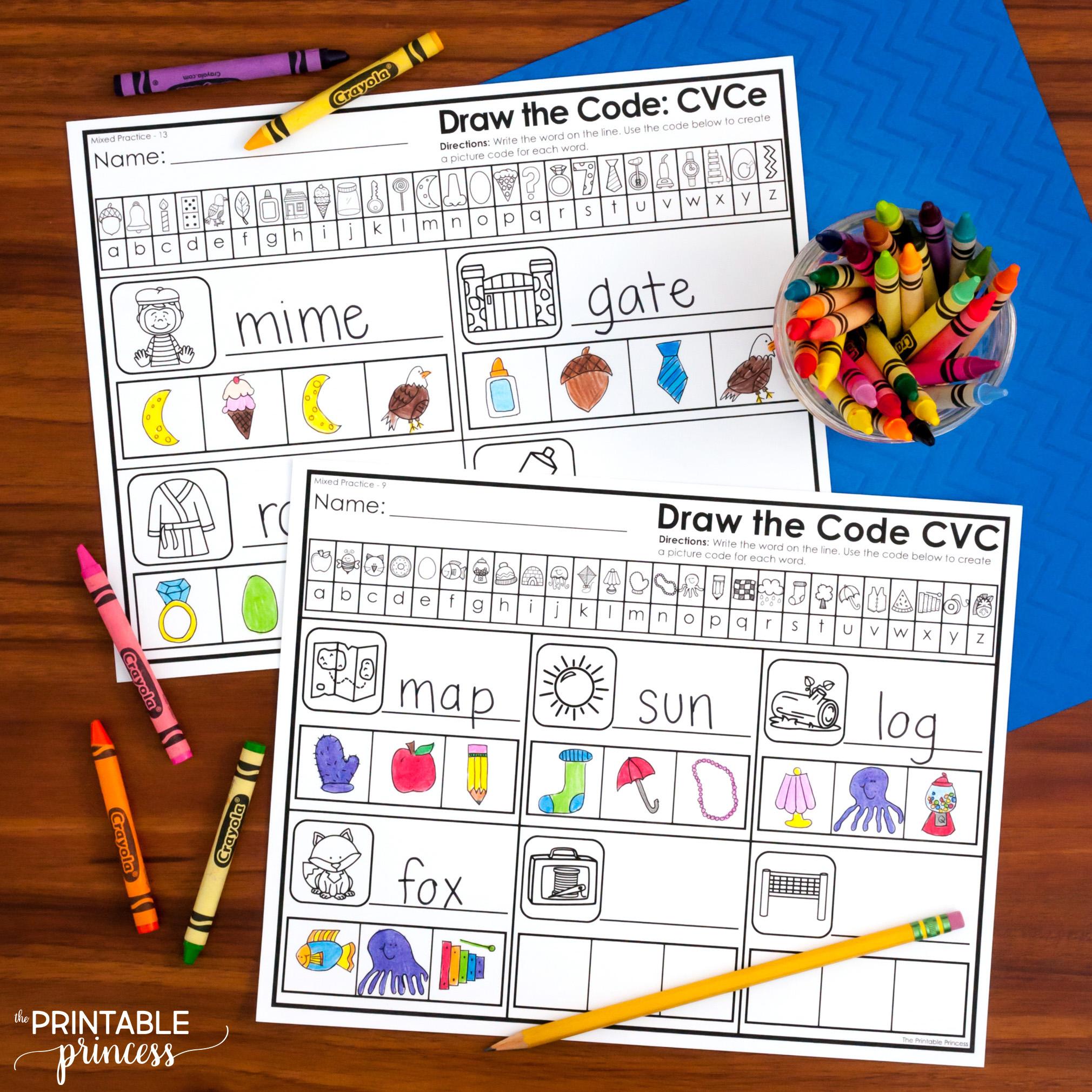 Draw The Code Cvc Amp Cvce Bundle