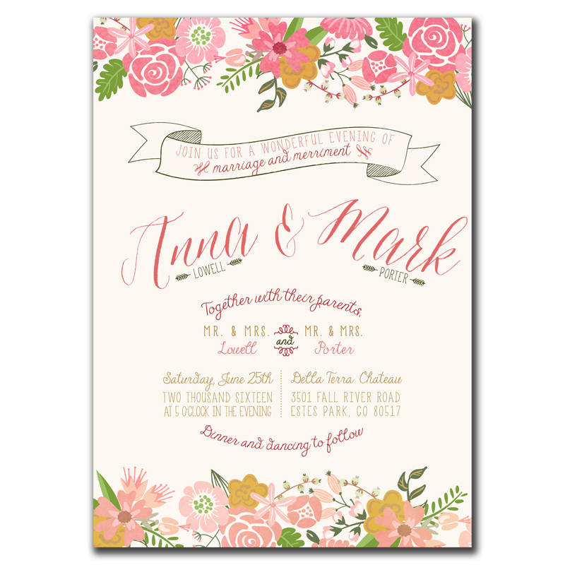 Order Bridal Shower Invitations Online