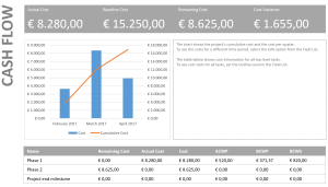 Cash flow report example