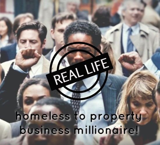 Property Financing: Rent-to-Rent – A real life Pursuit of Happyness