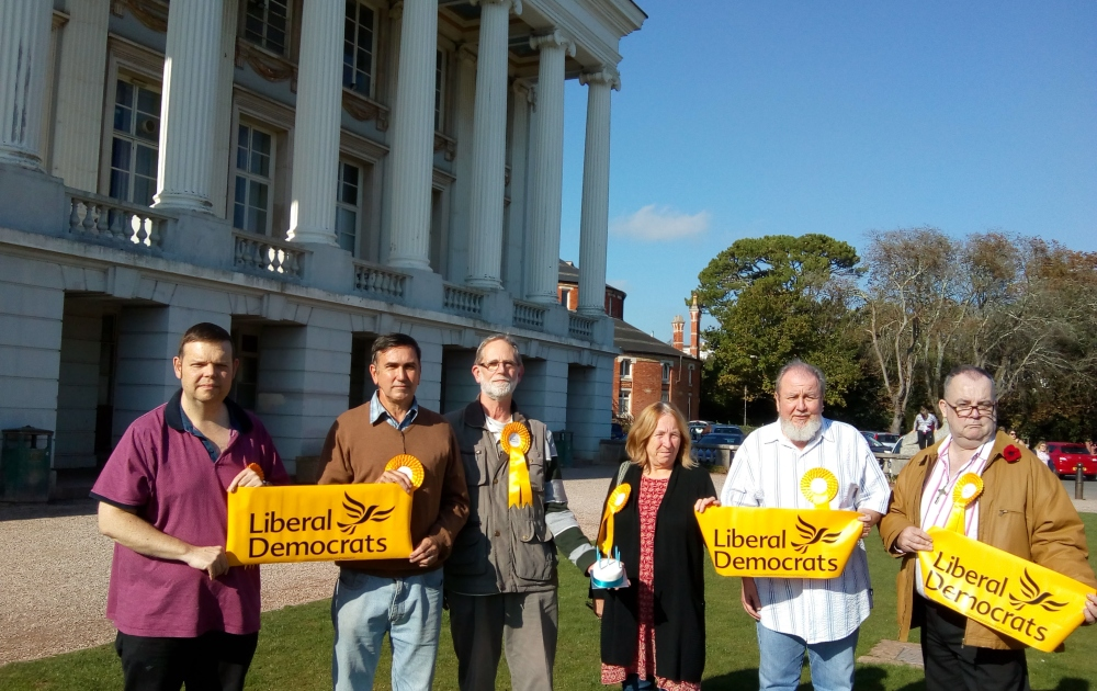 Happy Birthday Oldway Mansion! Torbay Lib Dems commemorate 5th anniversary of it being empty