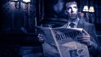 Nick Biadon in The Mousetrap 2019 UK tour.Courtesy of Johann Persson.