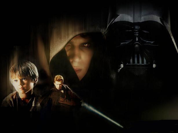 Anakin Darth Vader transformation