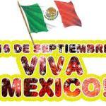 Féliz 16 de septiembre: Viva Mexico