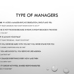 Type of Managers