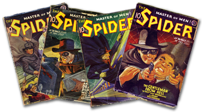 The Spider pulp magazines