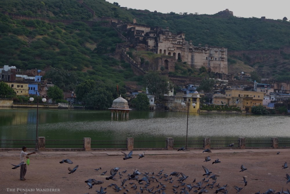 Mornings at Bundi.