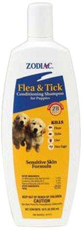Zodiac Flea & Tick Conditioning Shampoo for Puppies, 18-ounce