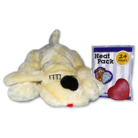 Snuggle Pet Products Snuggle Puppies Behavioral Aid Toy for Pets, Golden