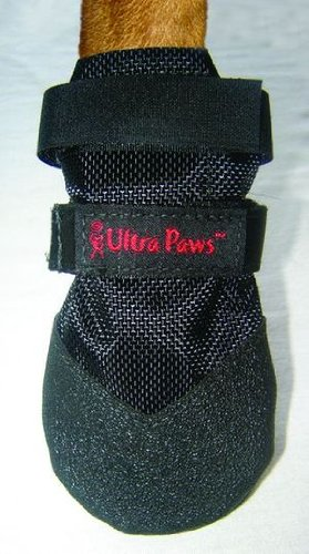 Ultra Paws Durable Dog Boot Black Large