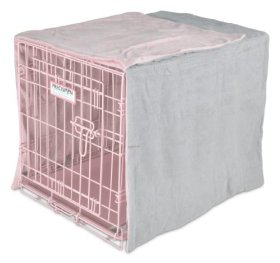 Precision Pet Snoozzy Baby Duvet Crate Cover, 24-Inch, Pink, 6-Pack
