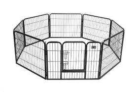 BestPet Heavy Duty Pet Playpen Cat Fence S Dog Exercise Pen, 24-Inch
