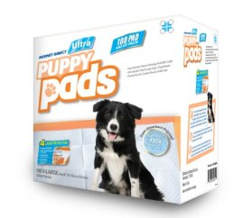 """Mednet Direct 30"""" x 30"""" X-Large ULTRA Puppy Pads – 100 Count"""