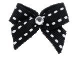 """Puppy Kisses """"Wicked"""" Dog Hair Bow – Alligator clip closure, Made with SWAROVSKI ELEMENTS"""