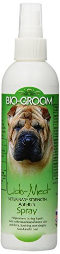 Bio-Groom DBB52608 Lido Anti Itch spray, Medium, 8-Ounce