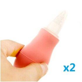 UDTEE 2PCS Durable/Healthy Pink Color Silca Gel Nipple Pet Hand Feeding Nursing Bottle for Newborn Pet Dog Puppies Cat Kitten & Small Animals