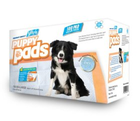 """Mednet Direct 30"""" x 36"""" XXL-Large ULTRA Puppy Pads – 100 Count"""