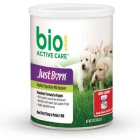 Just Born Milk Replacer Powder for Puppies, 12 oz