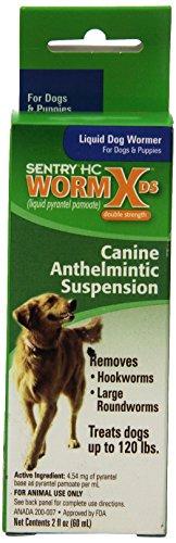 Sentry HC WormX DS Liquid Dog Dewormer, 2-Ounce