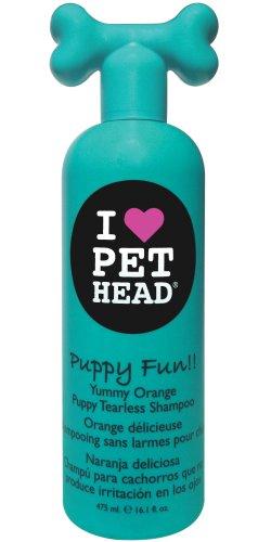 Pet Head Puppy Fun Tearless Shampoo, Yummy Orange 16.1 oz