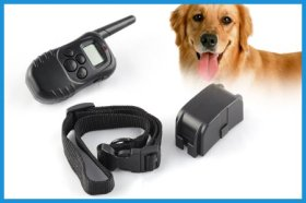 ATC New Electric Static and vibration Remote Control Dog Training Collar with LCD 300 meter Dog Obedience